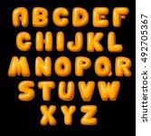 letters | Shutterstock .eps vector #492705367