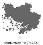 map   finland proper  finland  | Shutterstock .eps vector #492712627