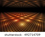 abstract colorful dance floor... | Shutterstock . vector #492714709