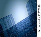 modern glass business center | Shutterstock . vector #49275340