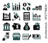 money  finance  accountant icon ... | Shutterstock .eps vector #492778834
