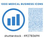 bar chart increase icon with... | Shutterstock .eps vector #492783694