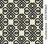 background seamless celtic...   Shutterstock .eps vector #492789865
