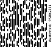 vector line pattern. minimal... | Shutterstock .eps vector #492862951