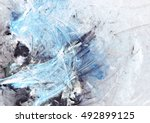 abstract beautiful blue  grey... | Shutterstock . vector #492899125