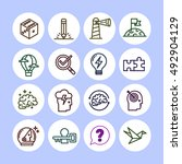 set of vector icon graphic for...   Shutterstock .eps vector #492904129