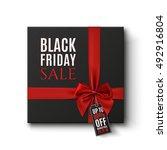 black friday sale conceptual... | Shutterstock . vector #492916804