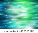 abstract shiny blue and green... | Shutterstock . vector #492959785