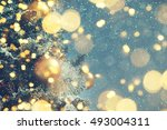 christmas background  | Shutterstock . vector #493004311