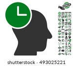 time thinking pictograph with... | Shutterstock .eps vector #493025221