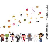 halloween | Shutterstock .eps vector #493038661