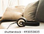 Sound Music Headphone. Audio...