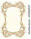 vintage frames for text. | Shutterstock .eps vector #49306927