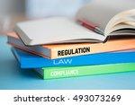 regulations concept | Shutterstock . vector #493073269