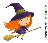 cartoon vector illustration of... | Shutterstock .eps vector #493084849