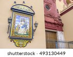 seville spain september 25 2013 ... | Shutterstock . vector #493130449