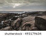 Rocks And Sea   Rocks With...