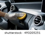 car detailing series   cleaning ... | Shutterstock . vector #493205251