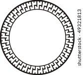 ancient circular design | Shutterstock .eps vector #49321813
