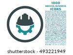 development rounded vector... | Shutterstock .eps vector #493221949