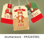 Merry Christmas Sale Tags In...