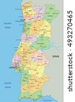 portugal   highly detailed... | Shutterstock .eps vector #493270465