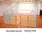 The Squash Court Formed With...