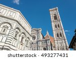 florence. the wonderful piazza... | Shutterstock . vector #493277431