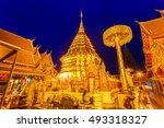 wat phra that doi suthep is... | Shutterstock . vector #493318327