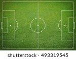 soccer field   Shutterstock . vector #493319545