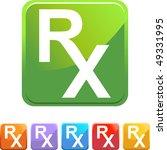 prescription symbol | Shutterstock .eps vector #49331995