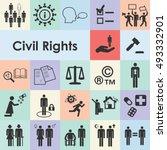 vector illustration of civil... | Shutterstock .eps vector #493332901