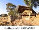 ruaha lodge in ruaha n. park...   Shutterstock . vector #493366867