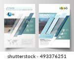 templates for brochure ... | Shutterstock .eps vector #493376251