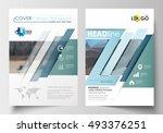 templates for brochure ... | Shutterstock .eps vector #493376251