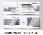 business templates for tri fold ... | Shutterstock .eps vector #493376287