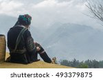 homestay with hmong people  ... | Shutterstock . vector #493379875