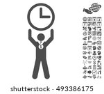 time champion icon with bonus... | Shutterstock .eps vector #493386175