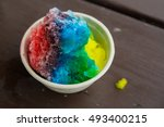 Hawaiian Shaved Ice Rainbow