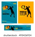 set templates banners  posters... | Shutterstock .eps vector #493426924