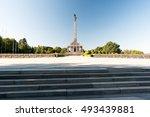 slavin   memorial monument and... | Shutterstock . vector #493439881