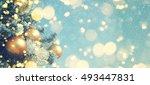 christmas background  | Shutterstock . vector #493447831