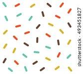 vector seamless pattern jumble... | Shutterstock .eps vector #493451827