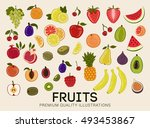 collection of premium quality... | Shutterstock .eps vector #493453867