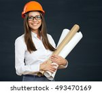 portrait of architect  student... | Shutterstock . vector #493470169