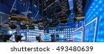 lighting equipment and... | Shutterstock . vector #493480639