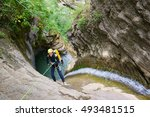Canyoning In Furco Canyon ...