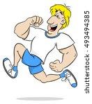 vector illustration of a... | Shutterstock .eps vector #493494385