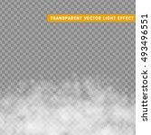fog or smoke isolated... | Shutterstock .eps vector #493496551