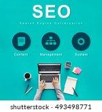 seo website development data...   Shutterstock . vector #493498771